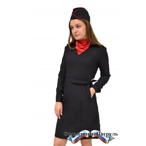Платье Полиция с длинным рукавом (Пикассо)