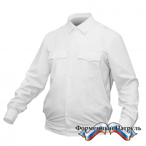 Рубашка МВД (белая с длинным рукавом)