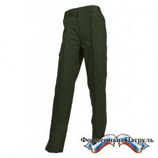 Брюки МО мужские (рип-стоп, цвет зеленый)