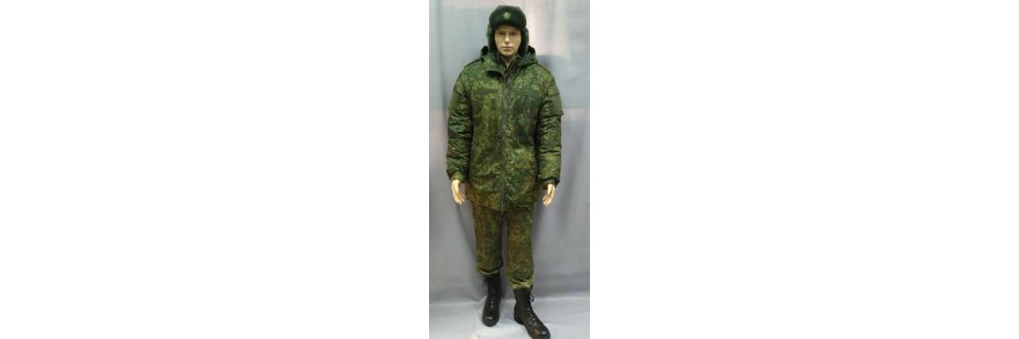 Куртка ВКПО зимняя (бушлат) (Бондированная ткань, цвет пиксель