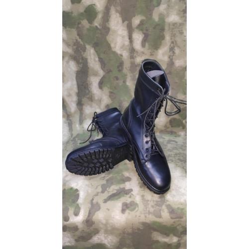 Берцы летние (модель 0049/11 WA, чёрные, нат. кожа)