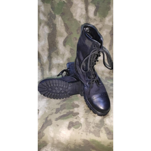 "Ботинки ""Янки"" (краст кордура, чёрные, модель Я-16)"