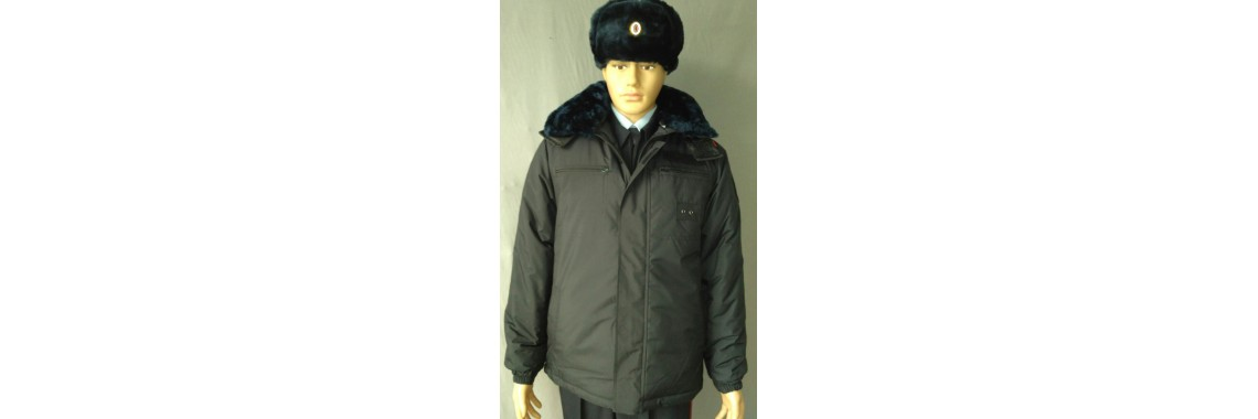 Куртка зимняя Полиция
