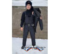 Полукомбинезон Полиция зимний (ткань рип-стоп на мембране/холофайбер)