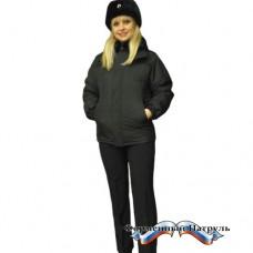 Куртка Юстиция зимняя удлиненная прямого силуэта