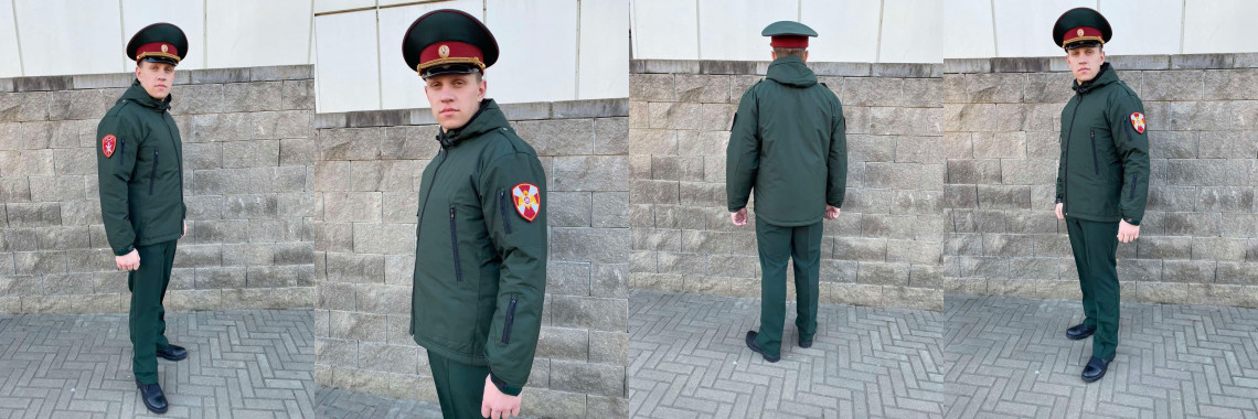 """ДЕМИСЕЗОННАЯ КУРТКА """"РОСГВАРДИЯ"""" СОСНА"""