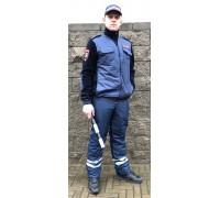 Флисовая куртка ДПС (полностью укомплектованная шевронами)