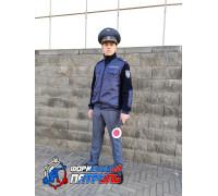 Флисовая куртка РОСТРАНСНАДЗОР/РОСТЕХНАДЗОР  (полностью укомплектованная шевронами)