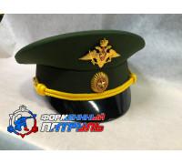 Фуражка МО офисная (ткань габардин, цвет зеленый)