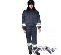 Костюм ДПС зимний (пуховой) куртка/ полукомбинезон