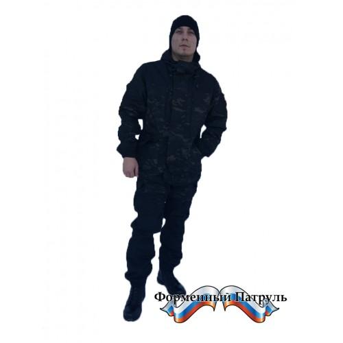 "Костюм ""Горка-5 ФП Multicam Black"" (рип-стоп/флис)"