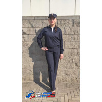 Костюм Полиция женский НОВОГО ОБРАЗЦА (ткань габардин)