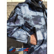 Куртка РОСГВАРДИЯ демисезонная удлиненная(мембрана микро рип-стоп/стежка 100 г, цвет синий мох)