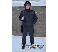 Куртка Полиция демисезонная укороченная (рип-стоп на мембране/стежка)
