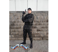 Костюм летний  НАТО с прямыми карманами д/р  (цвет  мультикам, ткань рип-стоп 240)