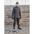 Костюм летний  РОСГВАРДИЯ д/р  (цвет черный, ткань рип-стоп 240)