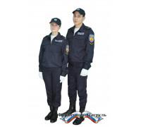 """Костюм Полиция (ППС) тип Б на резинке (поливискоза """"Мираж"""")"""