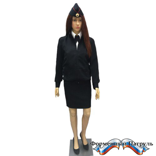 Куртка Полиция женская  (Габардин)