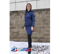 Юбка МО (рип-стоп 240, подкладка п/э, синяя)