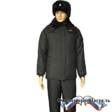 Куртка Полиция зимняя удлинённая прямого силуэта
