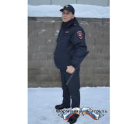Ветровка Полиция укороченная (рип-стоп на мембране/полиэстер)