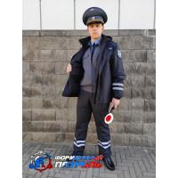 Куртка демисезонная РОСТРАНСНАДЗОР/РОСТЕХНАДЗОР удлинённая (рип-стоп на мембране/стежка)